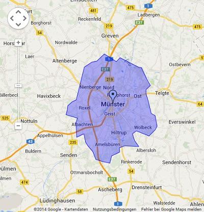 Onlinewerbung in Münster