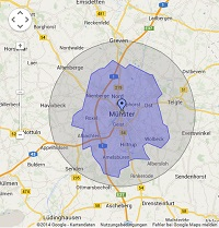 Regionale Suchmaschinenwerbung in Münster