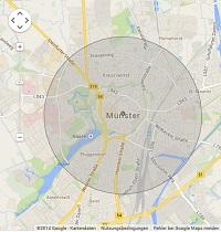 Lokale Suchmaschinenwerbung in Münster