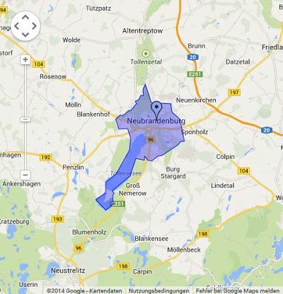 Onlinewerbung in Neubrandenburg