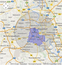 Regionale Suchmaschinenwerbung in Neuss