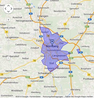 Onlinewerbung in Nürnberg