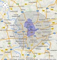Regionale Suchmaschinenwerbung in Oberhausen