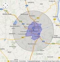 Regionale Suchmaschinenwerbung in Oldenburg