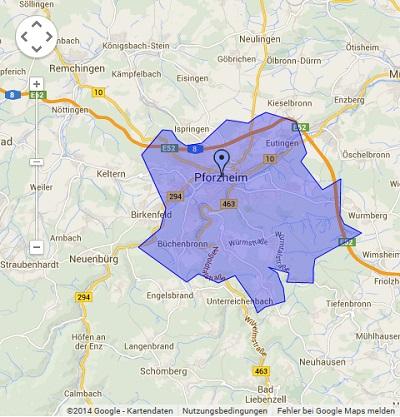 Onlinewerbung in Pforzheim