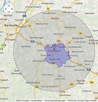 Regionale Suchmaschinenwerbung in Pforzheim