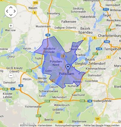 Onlinewerbung in Potsdam