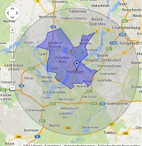 Regionale Suchmaschinenwerbung in Potsdam