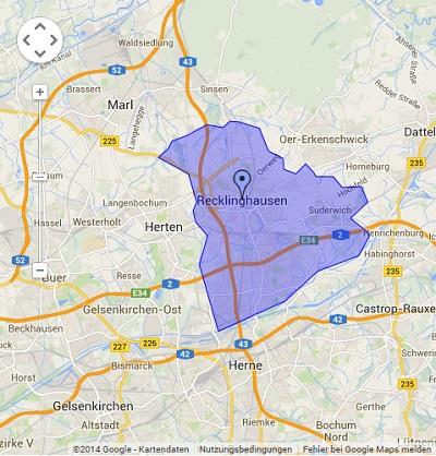 Onlinewerbung in Recklinghausen