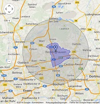 Regionale Suchmaschinenwerbung in Recklinghausen