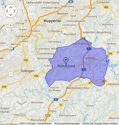 Onlinewerbung in Remscheid