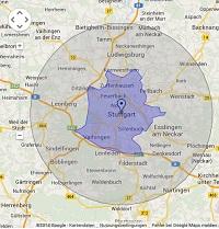 Regionale Suchmaschinenwerbung in Stuttgart