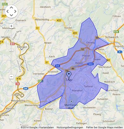 Onlinewerbung in Trier