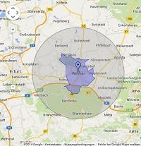 Regionale Suchmaschinenwerbung in Weimar