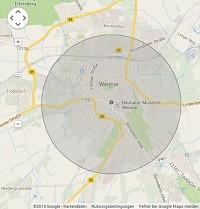 Lokale Suchmaschinenwerbung in Weimar
