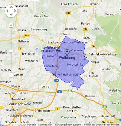 Onlinewerbung in Wolfsburg