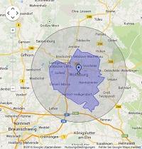 Regionale Suchmaschinenwerbung in Wolfsburg