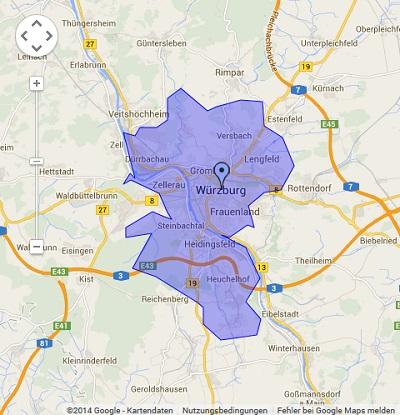 Onlinewerbung in Würzburg