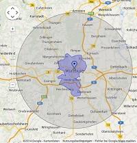 Regionale Suchmaschinenwerbung in Würzburg