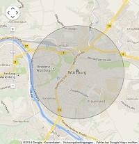 Lokale Suchmaschinenwerbung in Würzburg