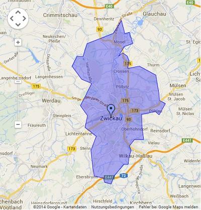 Onlinewerbung in Zwickau