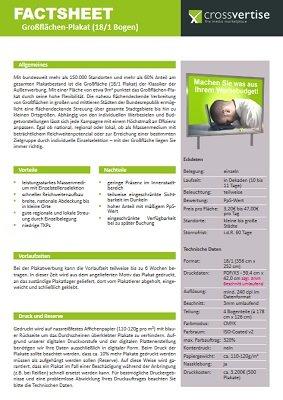 Factsheet 18/1-Plakat