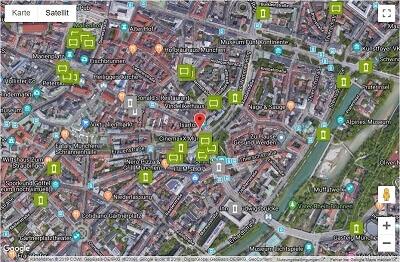 Plakatplanung Satellit