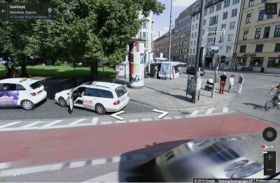 Plakatplanung StreetView