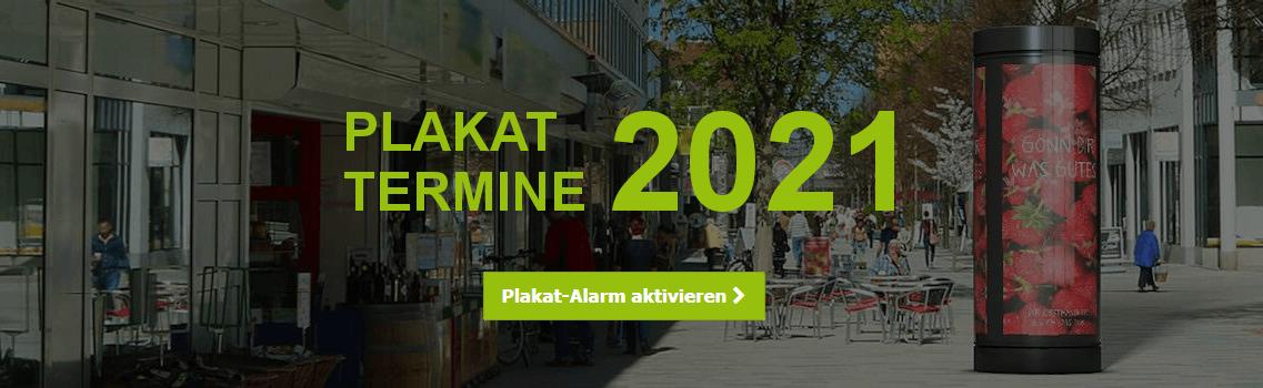 Plakatwerbung 2021 - Plakat-Alarm aktivieren