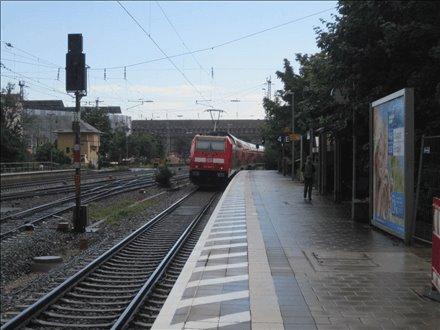 Bf, Bstg., Gleis 4, 1. Sto., 91054, Innenstadt
