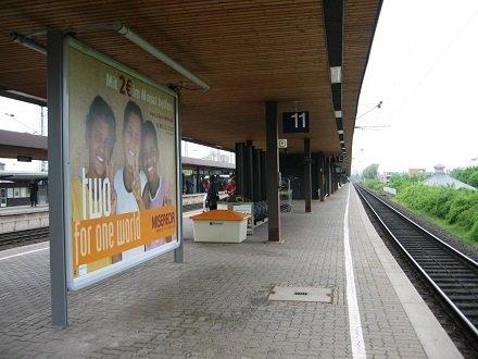Bf, Bstg., Gleis 11, vor Abschnitt F, 37073, Innenstadt