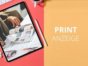 Kreation Printanzeige - Premiumpaket