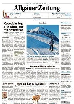 Werbung in Allgäuer Zeitung