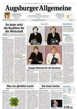Werbung in Augsburger Allgemeine