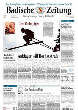 Werbung in Badische Zeitung
