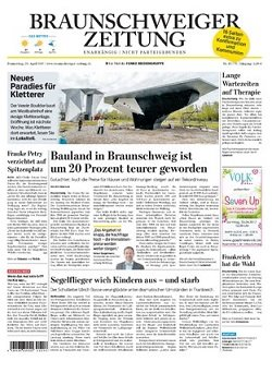 Werbung in Braunschweiger Zeitung