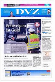 Werbung in der Deutschen Verkehrs-Zeitung