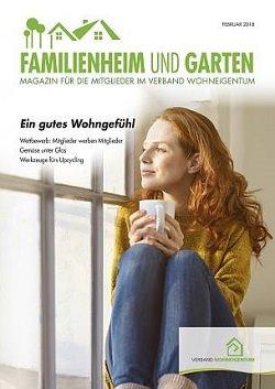 Werbung in Familienheim und Garten