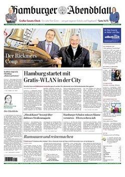 Werbung in Hamburger Abendblatt