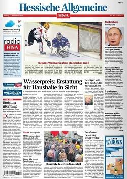 Werbung in Hessische/Niedersächsische Allgemeine