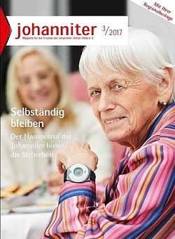 Werbung in Johanniter Mitgliederzeitschrift