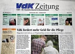 Werbung in VdK-Zeitung
