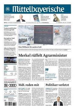 Werbung in Mittelbayerische Zeitung