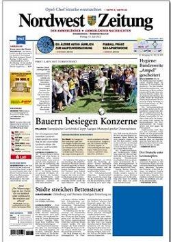 Werbung in Nordwest-Zeitung