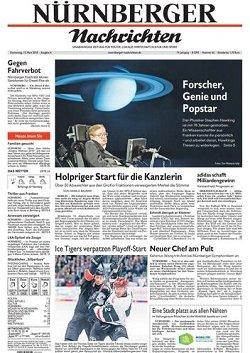 Werbung in Nürnberger Nachrichten