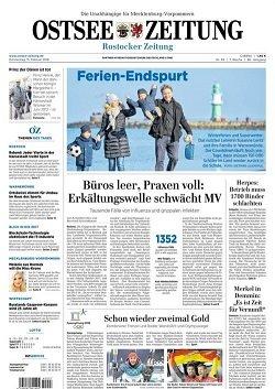 Werbung in Ostsee-Zeitung