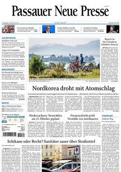 Werbung in Passauer Neue Presse