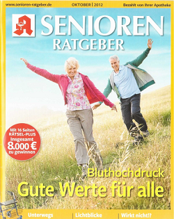 Werbung in Senioren Ratgeber