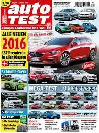 Werbung in der auto TEST