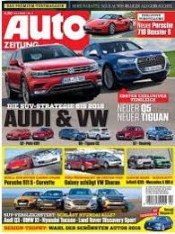 Werbung in der AUTO Zeitung